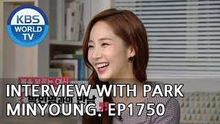 Interview with the Spring Goddess, Park Minyoung [Entertainment Weekly/2019.02.18]