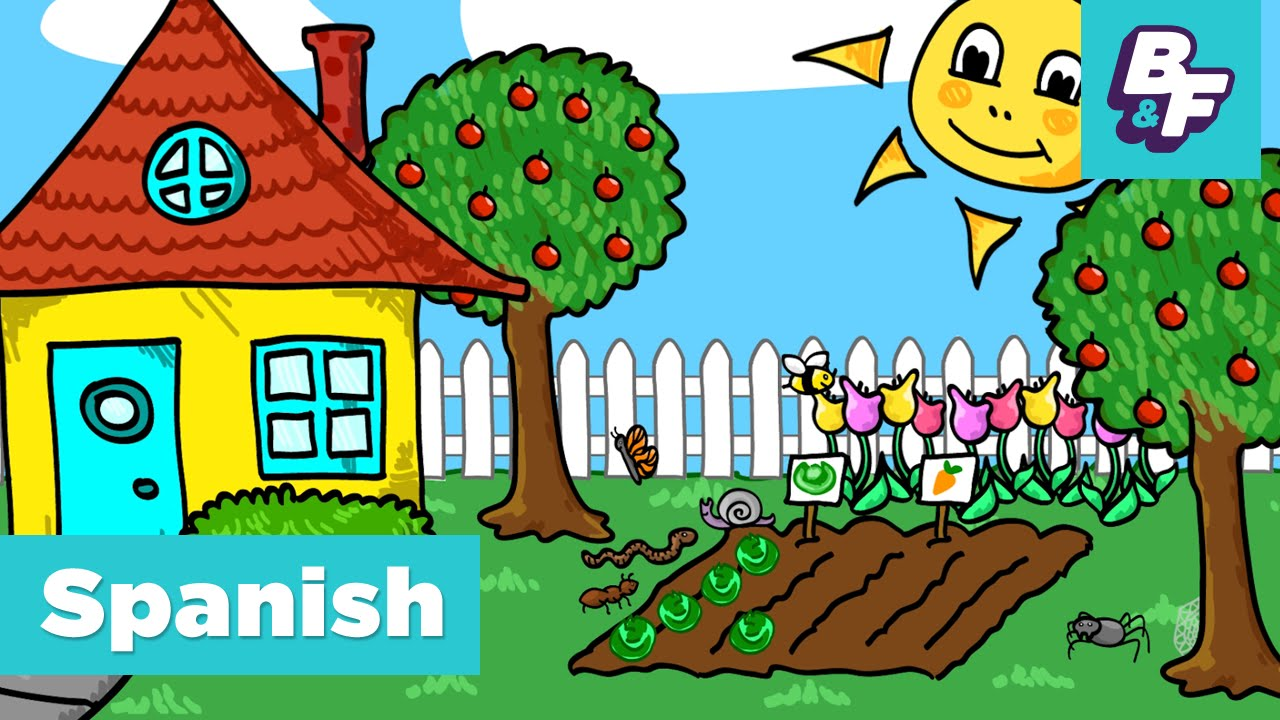 Learn Spanish Stem Vocabulary In The Garden With Basho