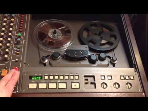 Bee Gees - Stayin Alive cover on my Tascam 388 Reel to Reel recorder
