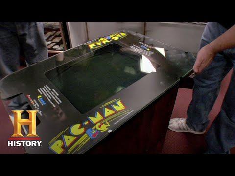 Pawn Stars: Pac-Man Arcade Game (Season 1)   History