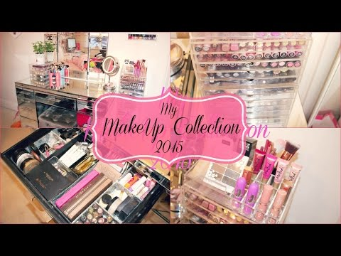 My Makeup Collection 2015!