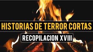 HISTORIAS DE TERROR CORTAS XVIII (RECOPILACIÓN DE RELATOS)