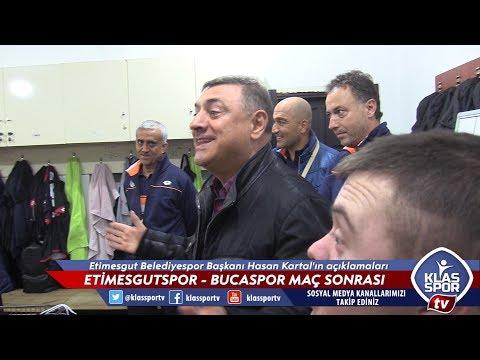 Etimesgut Belediyespor - Bucaspor maçı sonrası Hasan Kartal'ın açıklamaları
