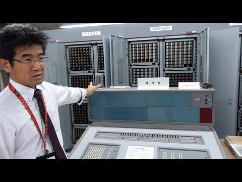 1958 Facom 128B Japanese Relay Computer, Still Working [video]