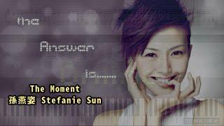 The Moment, 孫燕姿 Stefanie Sun (鋼琴教學) Synthesia 琴譜 Sheet Music