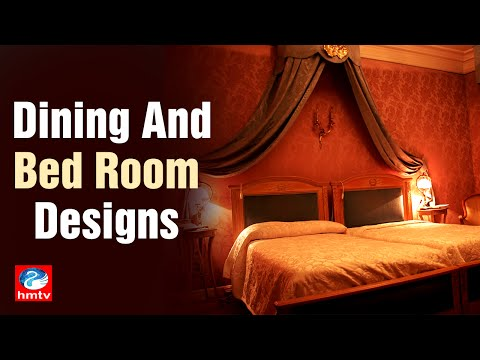 Interior Designing | Dining and Bed Room Designs | Dream Designs | HMTV