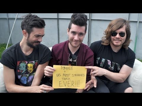 Bastille - Pompeii the UK's most streamed track of all time! Mp3