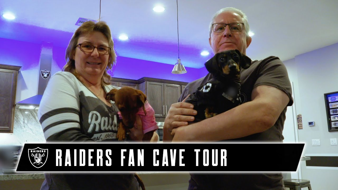 A Silver and Black Takeover   Fan Cave Tour   PPG   Las Vegas Raiders