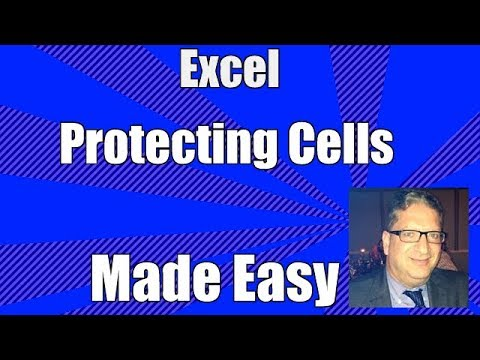 protect cells in excel office 365