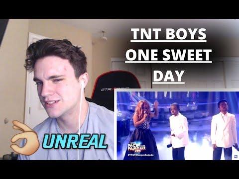 TNT BOYS - ONE SWEET DAY *FT MARIAH CAREY & BOYZ II MEN* (REACTION)