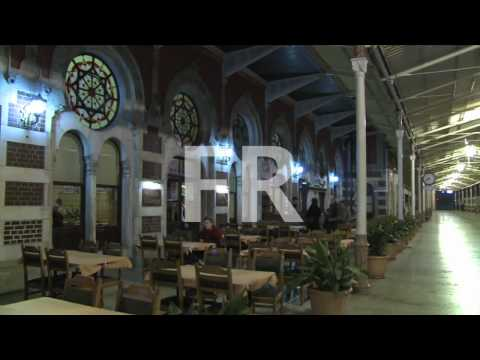 Royalty free footage Orient express station Istanbul