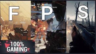 Les 3 meilleurs FPS de 2016 (100% Gaming)