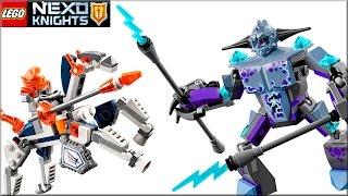Лего Нексо Найтс 70359 Ланс против Молнии. Обзор LEGO Nexo Knights Lance vs  Lightning