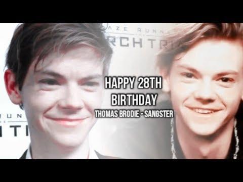 Happy 28th Birthday Thomas Brodie  Sangster