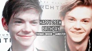 Happy 28th Birthday Thomas Brodie - Sangster