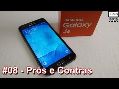 Samsung Galaxy J5 - Prós e Contras (minha opinião) - Português
