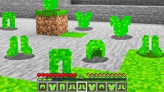 Minecraft BUT Grass Blocks Now Drop Grass Armor...
