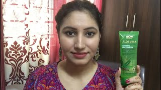 WOW Skin Science Aloevera Hydrating Face Wash Review