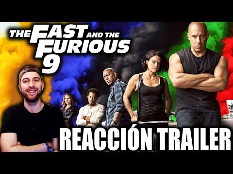 Video Reacción: RÁPIDOS Y FURIOSOS 9 (Fast & Furious 9) Trailer 2020 | ¡NO ME LO CREO, BRUTAL!