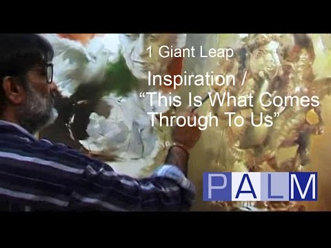 1 Giant Leap Film: Inspiration  This Is What Comes Through To Us featuring Kurt Vonnegut