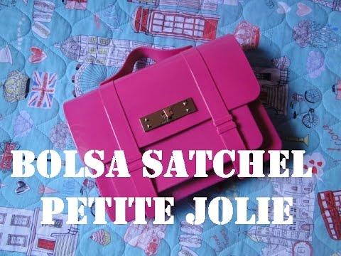 a8ff300d30 Bolsa Satchel - Petite Jolie - YouTube