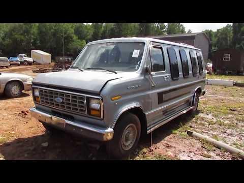 SCRAPPED! 1984 Ford 150 Econoline ClubWagon