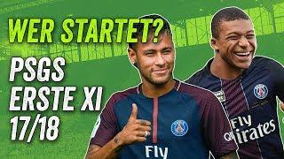 PSG Transfers & Gerüchte - Mbappé in Paris Startelf 2017/18?
