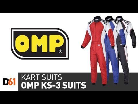 OMP KS-3 Karting Suit: Kart Overall Product Details