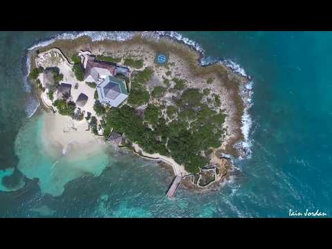 Island Harbour Anguilla Aerial Filming