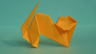 Как сделать кошку из бумаги. Оригами кошка. Origami cat(Как сделать кошку из бумаги. Оригами кошка / How to make cat out of paper. Origami cat., 2016-08-24T03:59:55.000Z)