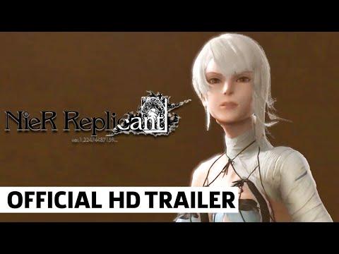NieR Replicant Ver 1.22474487139 - The Barren Temple Gameplay Trailer