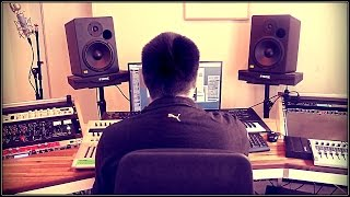 Beat Making - Pablo Prod. making a Hip Hop beat 2016