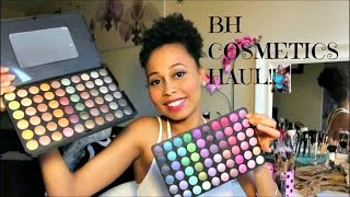 BH Cosmetics Haul Unboxing Swatches