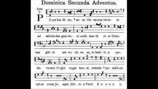 Dominica II Adventus.Introito: Populus Sion