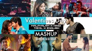 Malayalam x Tamil Valentines Mashup 2019 | 13+ Songs | @DJ Rash @DJ Akhil