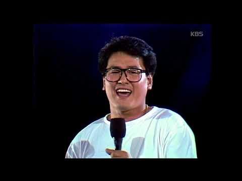 권인하 x 강인원 x 김현식 - '비오는 날의 수채화' [가요톱10, 1990]