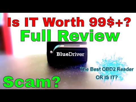 Blue Driver OBD2 - Professional Diagnostic Tool Scan Blue Driver Bluetooth IPhone IPad Android