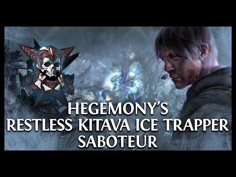 Path of Exile Atlas Essence League 2.4.0: Hegemony's Restless Kitava's Ice Trapper Saboteur