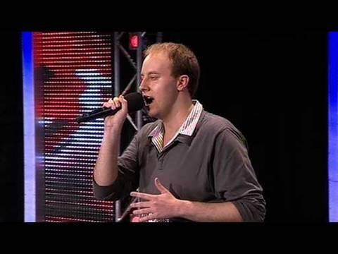 The X Factor 2009 - Scott James - Auditions 6 (itv.com/xfactor)