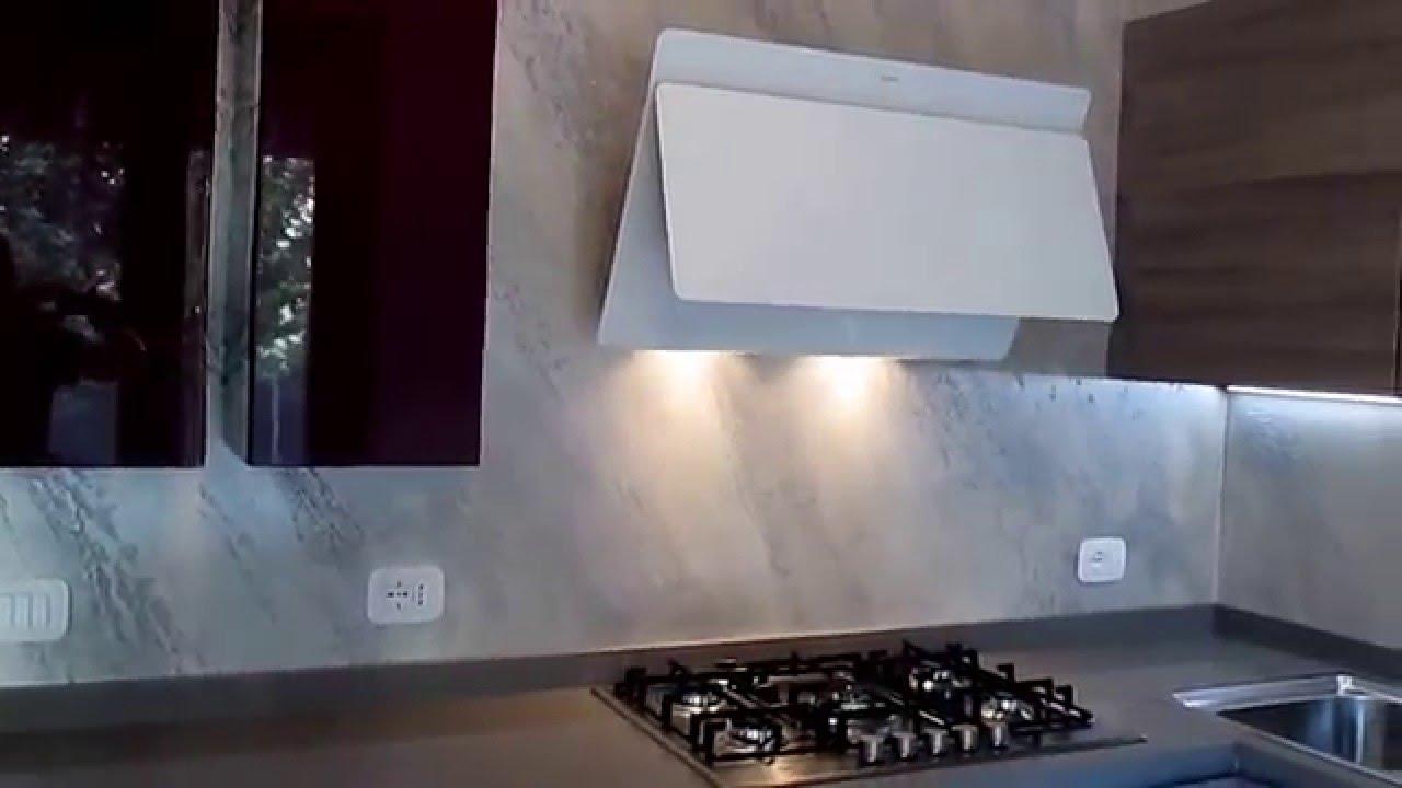 come fare un rivestimento cucina senza piastrelle con la pietra ...