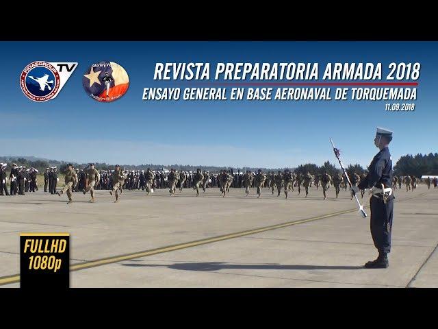 [EXCLUSIVO] Armada de Chile realiza su preparatoria en Torquemada para GPM2018