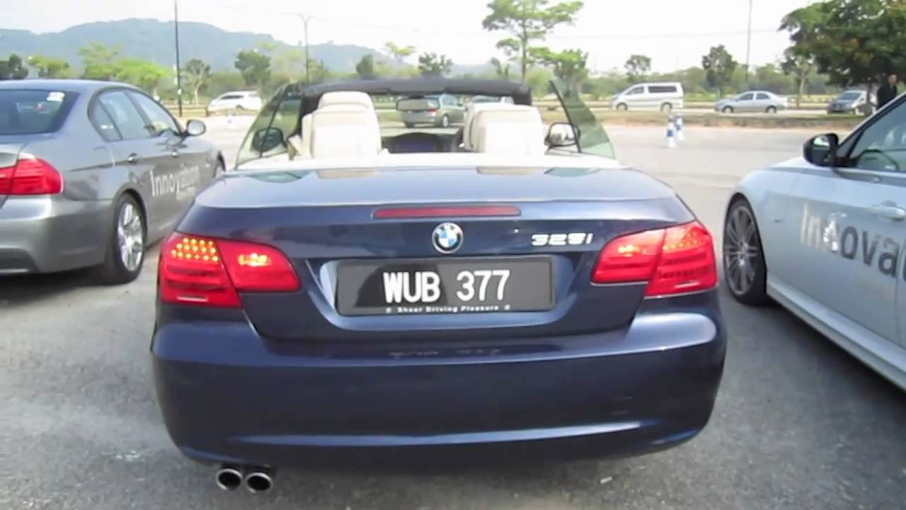 BMW I Convertible StartUp Full Vehicle Tour And Test - 2010 bmw 325