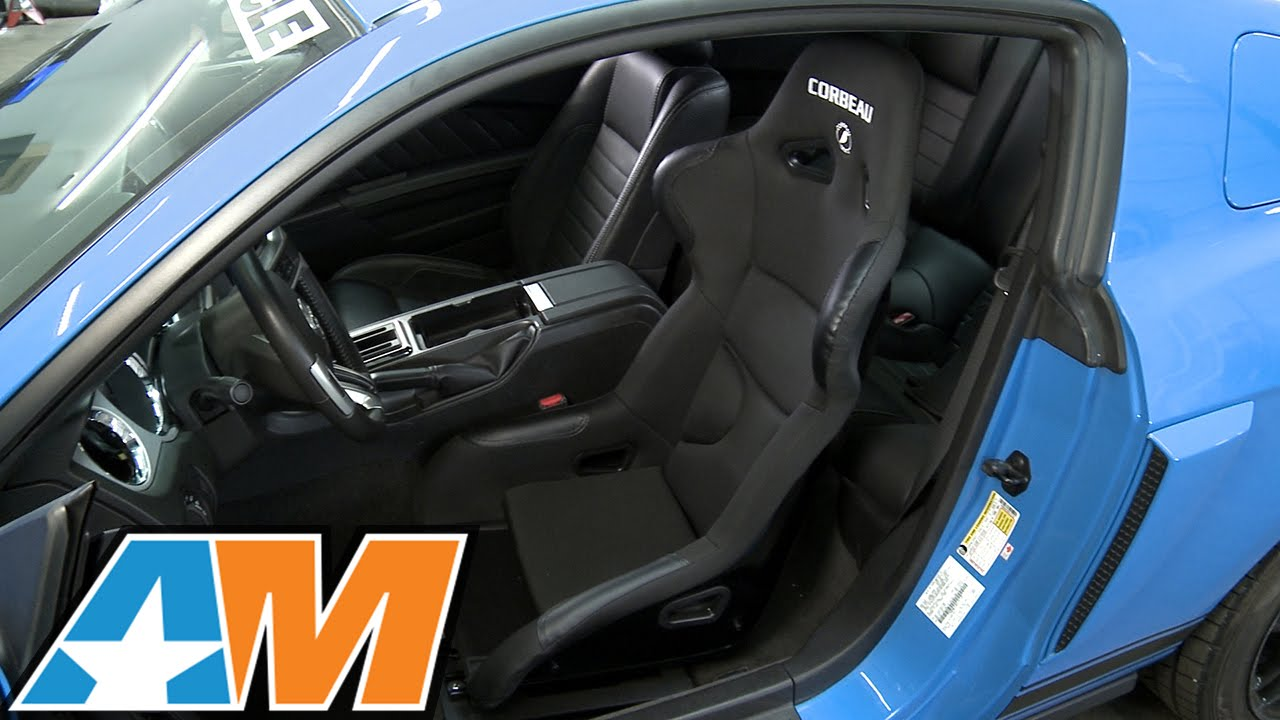 1979 2017 Mustang Corbeau Fx1 Pro Racing Seat Review Install Youtube