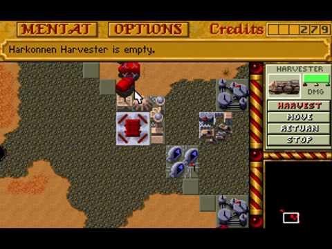 Dune 2: Harkonnen Mission 9 (last) pt. 1/4 (pc dos)