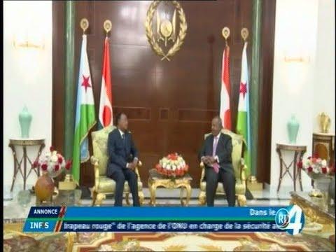 Télé Djibouti Chaine Youtube : JT Somali du 09/10/2017