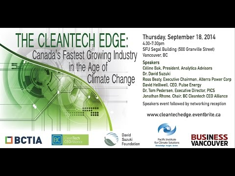 The Cleantech Edge: Canada's Fastest Growing Industry in the Age of Climate Change