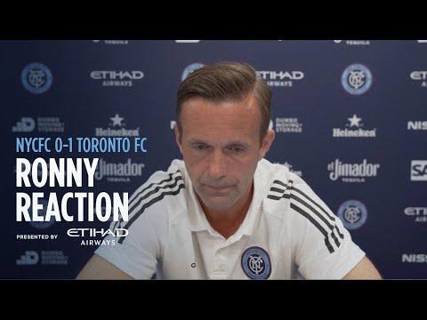 Ronny Deila Reaction | NYCFC 0-1 Toronto FC