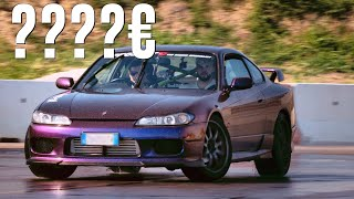 QUANTO mi COSTA fare DRIFT in Nissan SILVIA?💰💰💰 | BECOMING A DRIFTER EP.8