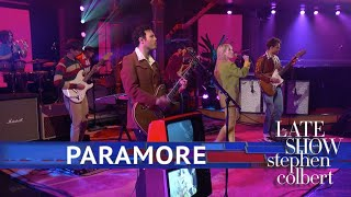 Paramore Performs 'Rose Colored Boy'
