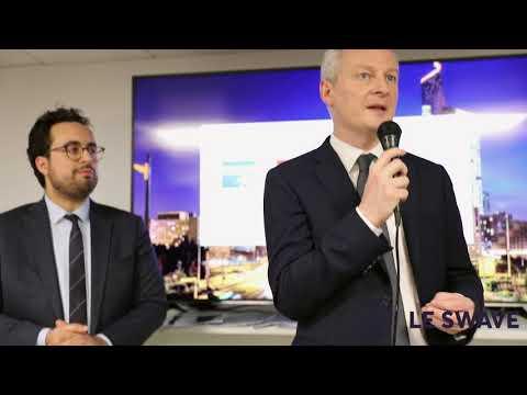 [Evénement] Inauguration du Swave par Bruno Le Maire, Ministre de l'Economie et des Finances